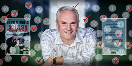 Expert Talk : Jurgen Ingels inclusief boek 50 lessen voor ondernemers billets