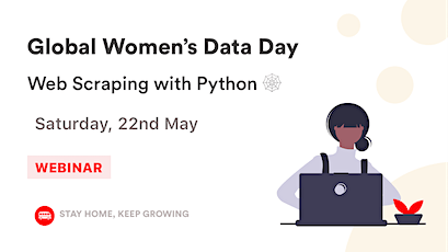 [Global Women's Data Day] Web Scraping with Python  tickets