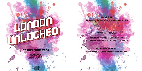 LONDON UNLOCKED // £2.50 DRINKS tickets