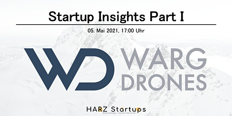 Startups Insights Part I: WARGDRONES tickets