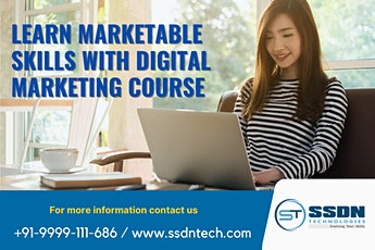 Book a Demo on Digital Marketing Online Training by Industry Experts tickets