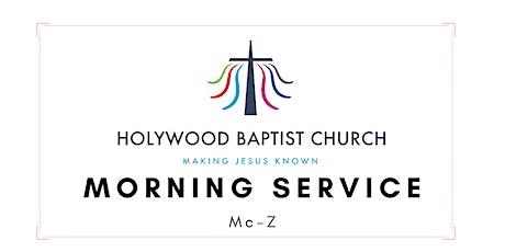 27th June (Mc-Z) - HBC Morning Service tickets