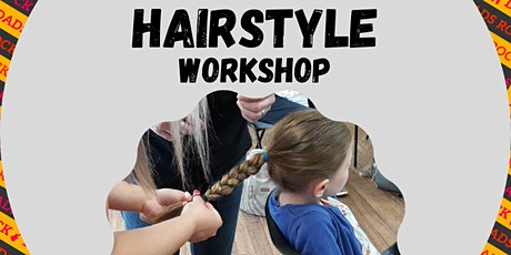 Hairstyle Workshop for Dads and Mums - Free, Online open to all tickets
