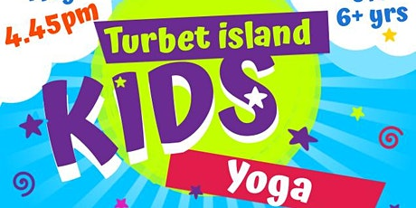 Kids Yoga on Turbet Island: 4.45pm tickets