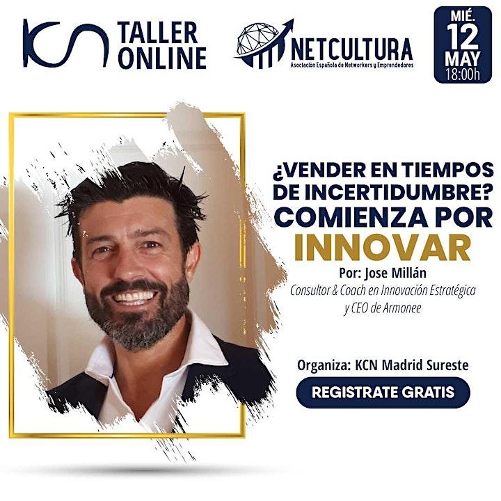 Imagen de Taller Online - Comienza por Innovar 12May