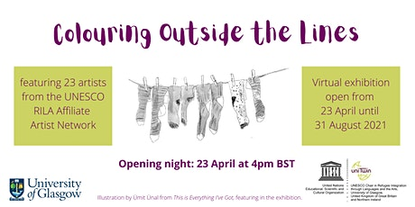 Exhibition opening: Colouring Outside the Lines tickets