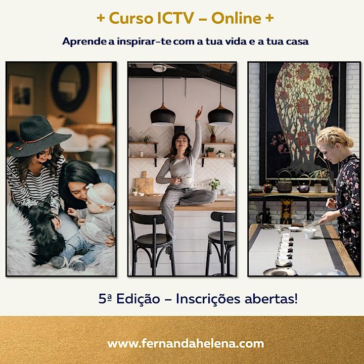 imagem Curso ICTV Online - Inspira-te Com a Tua Vida