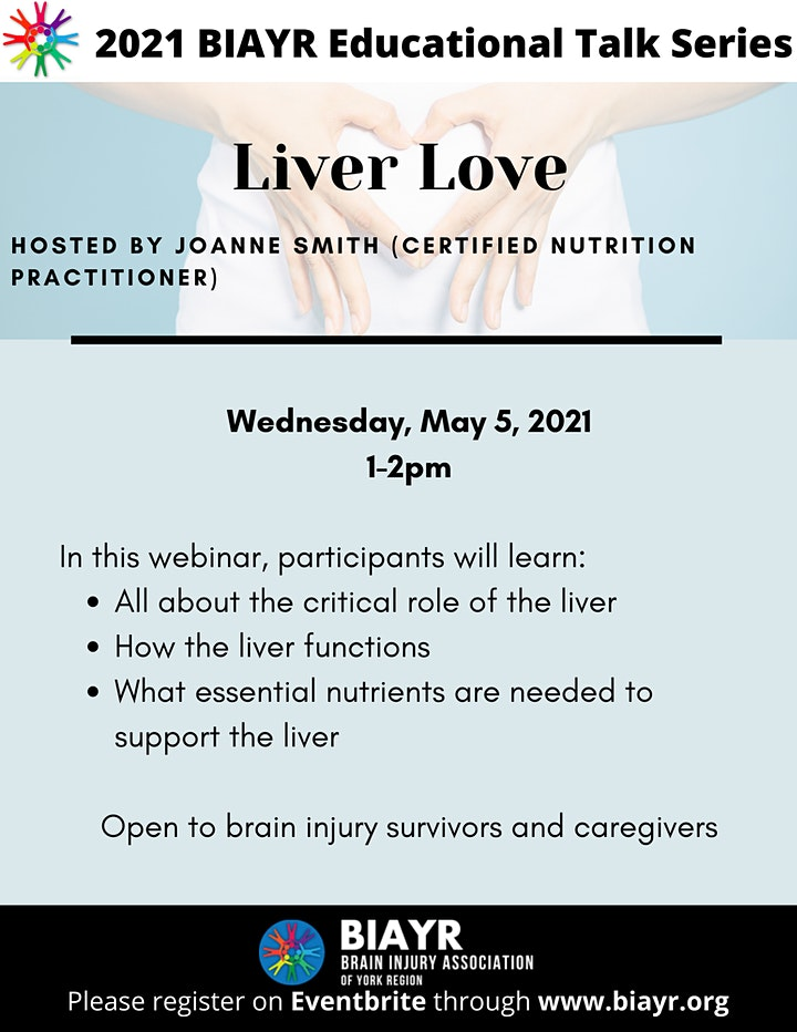 Liver Love - 2021 BIAYR Educational Talk Series image