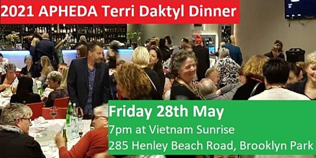 2021 APHEDA Terri Daktyl Memorial Dinner tickets