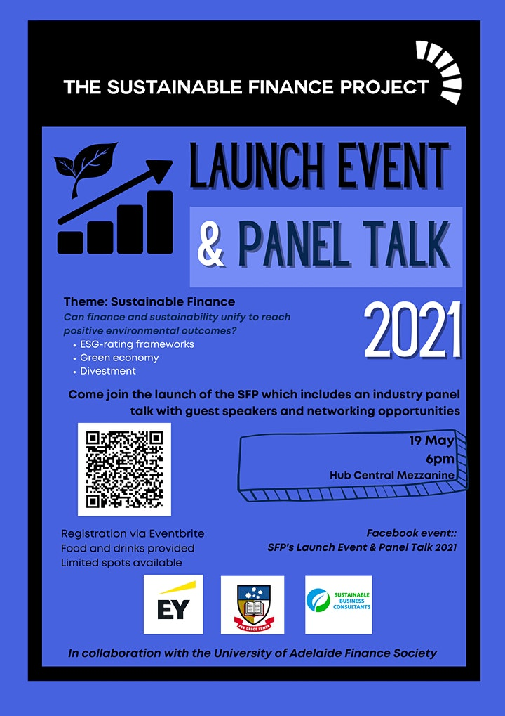 Sustainable Finance Project: Launch Event & Panel Talk 2021 image