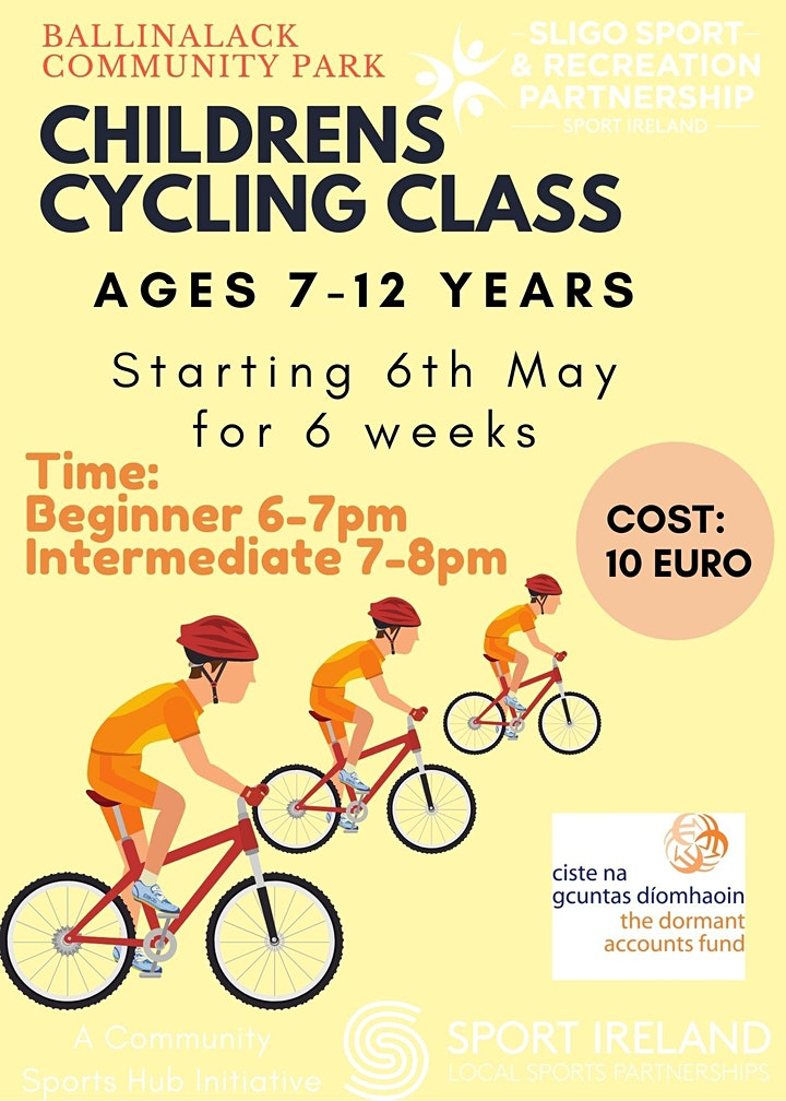 Children's Cycling Class image