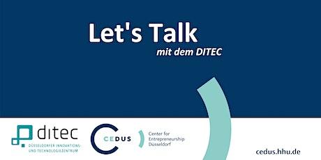 CEDUS x DITEC Förderprogramme für Startups und junge innovative Unternehmen Tickets