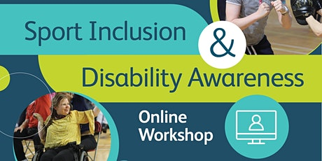 Sport Inclusion and Disability Awareness Online Workshop tickets