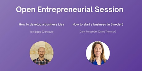 Open Entrepreneurial Session tickets