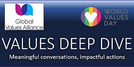 VALUES DEEP DIVE CONVERSATION: PEACE tickets