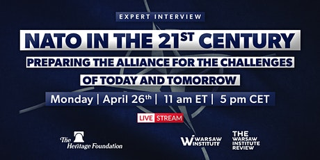 NATO in the 21st Century Preparing the Alliance for the Challenges of Today tickets