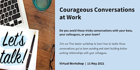 Courageous Conversations at Work tickets