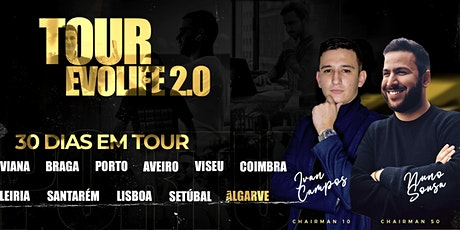 ALGARVE EVOLIFE 2.0 TOUR bilhetes