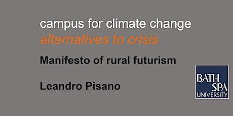 Manifesto of rural futurism biglietti
