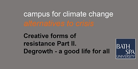 Creative forms of resistance part 2 - Degrowth tickets