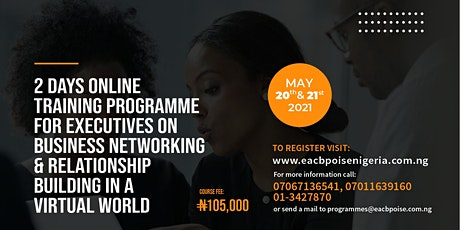 Business Networking and Relationship Building in a Virtual World tickets