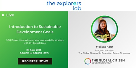 Introduction to Sustainable Development Goals tickets