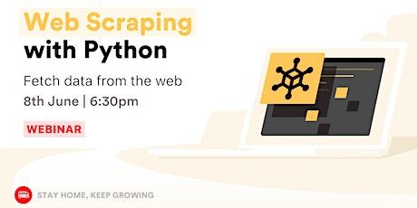[Webinar] Python Web Scraping tickets