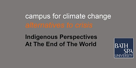 Indigenous perspectives of the end of the world tickets