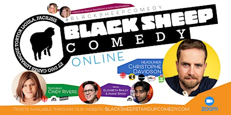 Black Sheep Comedy Online Featuring Christophe Davidson tickets