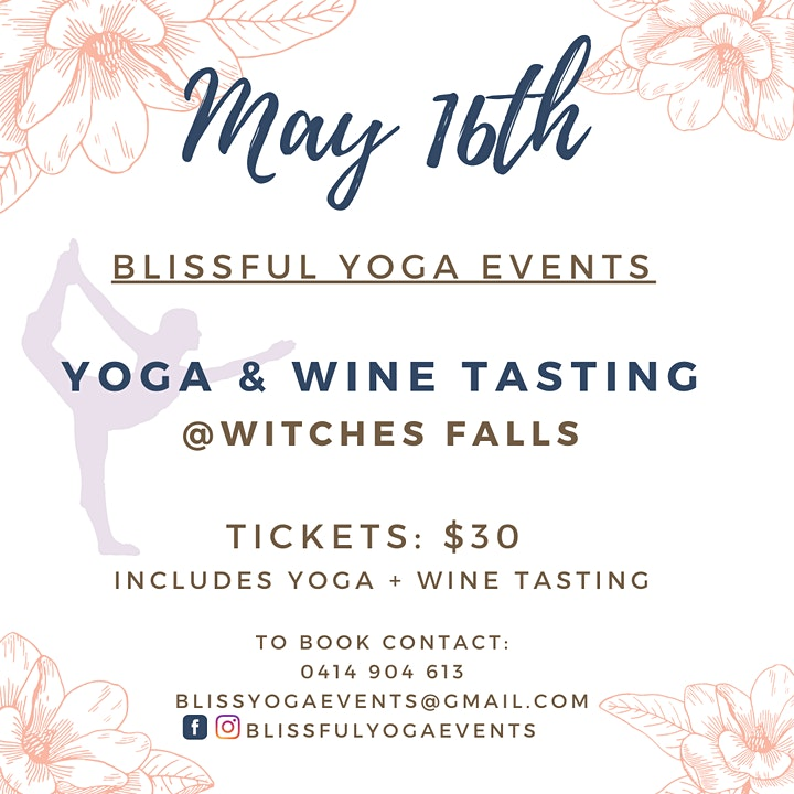 Yoga + Wine Tasting at Witches Falls image