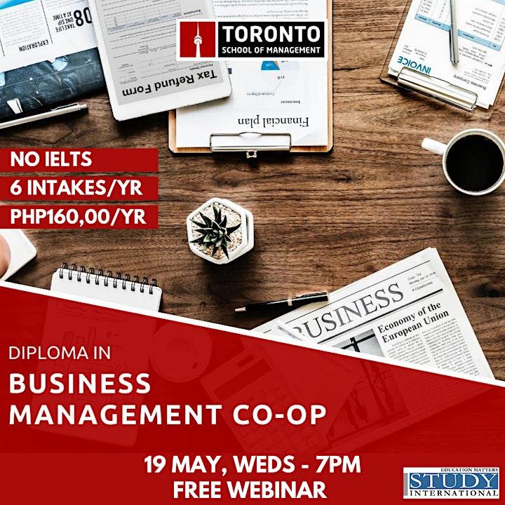 Move to Toronto with Toronto School of Management! image