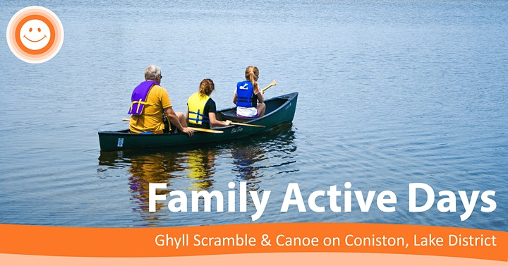 Family Active Day Ghyll Scrambling & Mindful Canoe image