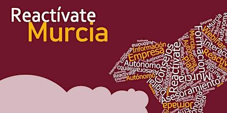 Webinars Ayudas para Autónomos Reactívate Murcia entradas