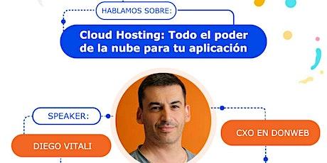 """CHARLA PARA EMPRENDEDORES TECNOLÓGICOS: """"Cloud Hosting"""" entradas"""