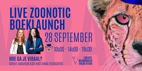 Live Zoonotic Boeklaunch | De formule voor een virale businessstrategie tickets