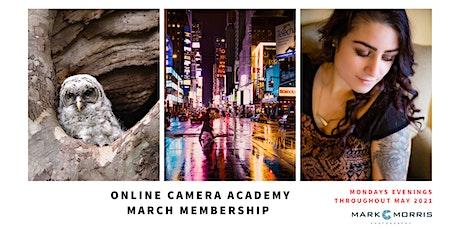 Camera Club - May membership tickets