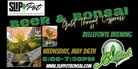 Gold Thread Cypress Bonsai at Bellefonte Brewing tickets