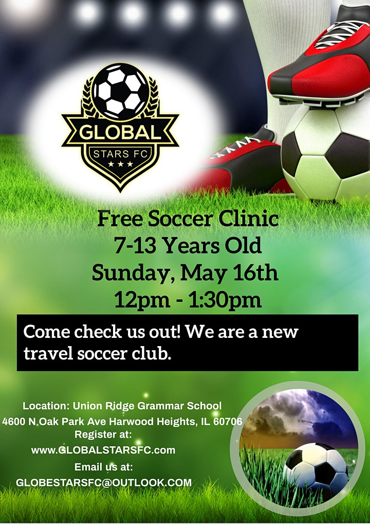 Free Youth Soccer Clinic image