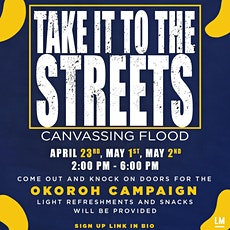 Take it To The Streets: Mass Canvassing Days tickets