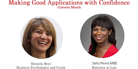 Career Month - Making Good Applications with Confidence tickets