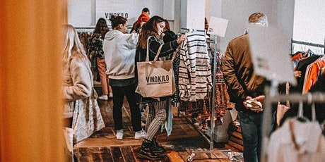 Printemps Vintage Kilo Pop Up Store • Strasbourg • Vinokilo billets