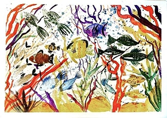 Watercolour Under The Ocean -Corals and Fishes Painting Workshop tickets