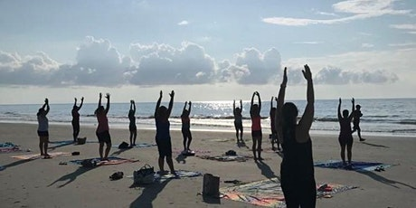 BEACH YOGA, FRIDAY., April 23rd  at 10:00 am w/ Social Distancing tickets