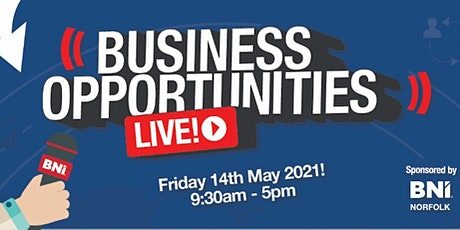 Business Opportunities LIVE (Norfolk) entradas