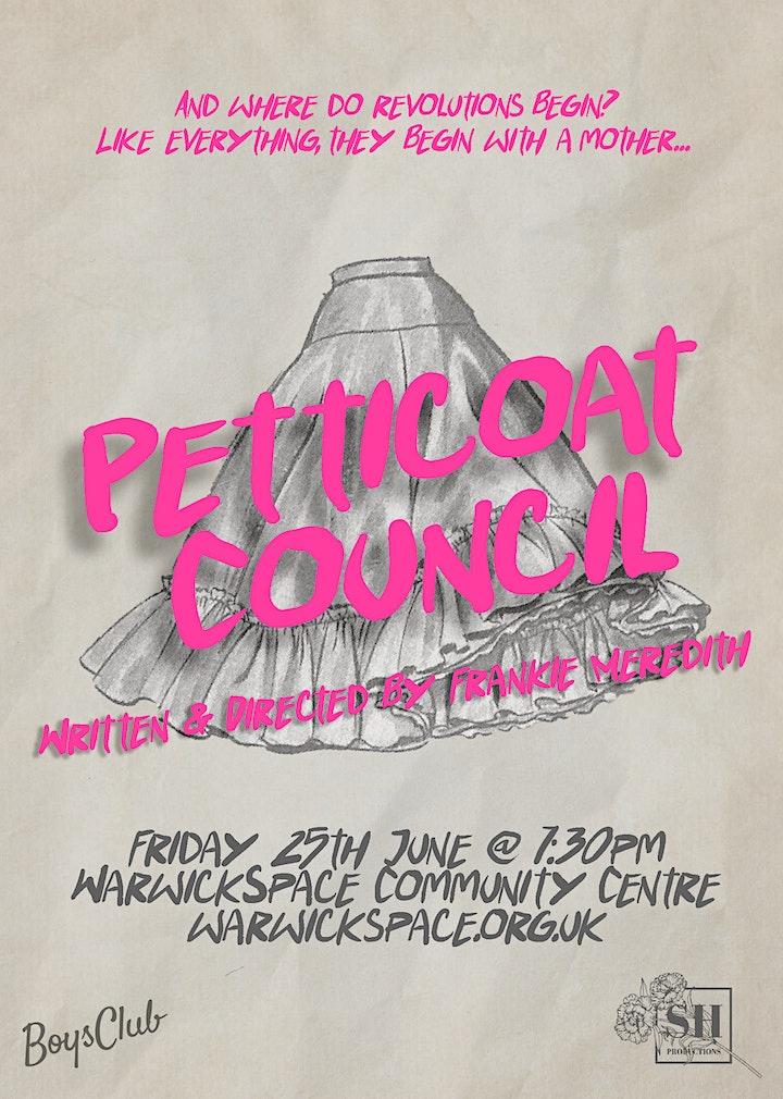 Petticoat Council @ Warwickspace Community Centre image