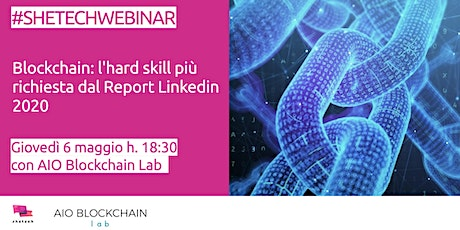 Blockchain: l'hard skill più richiesta dal Report Linkedin 2020 billets