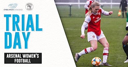 Arsenal Women's Oaklands Football Academy - Trial Day tickets