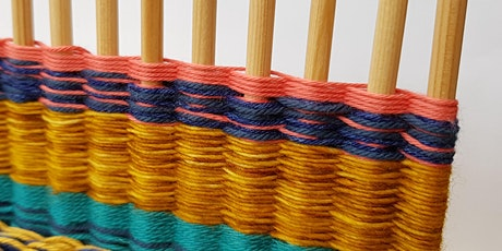 Weaving Workshop Using a Peg Loom tickets