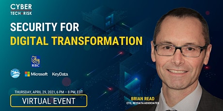 Cyber Tech & Risk - Security for Digital Transformation tickets