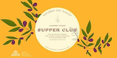Gourmet Vegan Supper Club in Southsea tickets